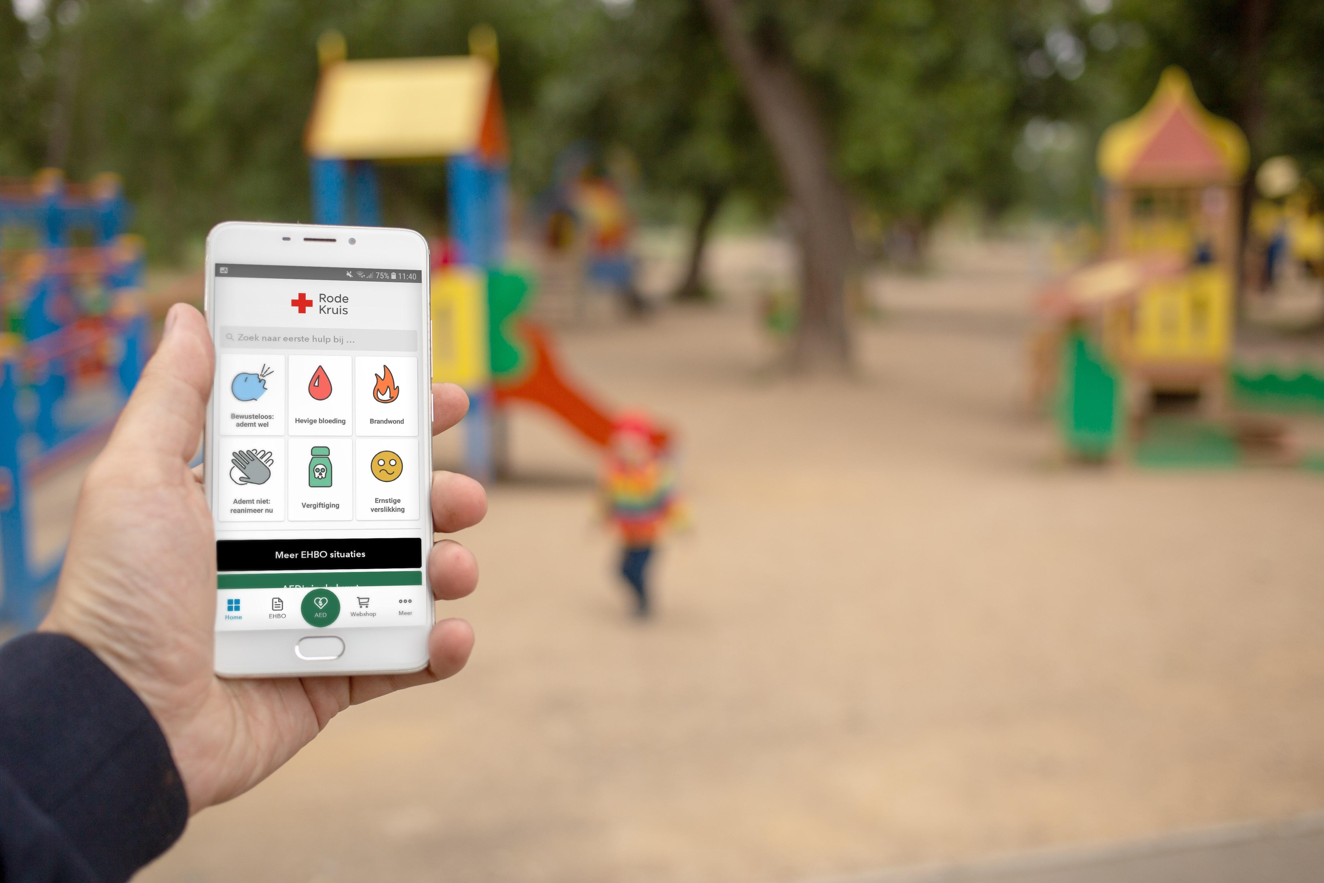 Welk verband bij welk letsel? Check de EHBO-app!